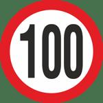 100km/hr