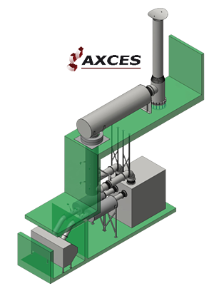Nuclear Powerplant Exhaust System
